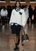 Jourdan Dunn walks the runway at Tommy Hilfiger AW20 show during London Fashion Week in London, UK