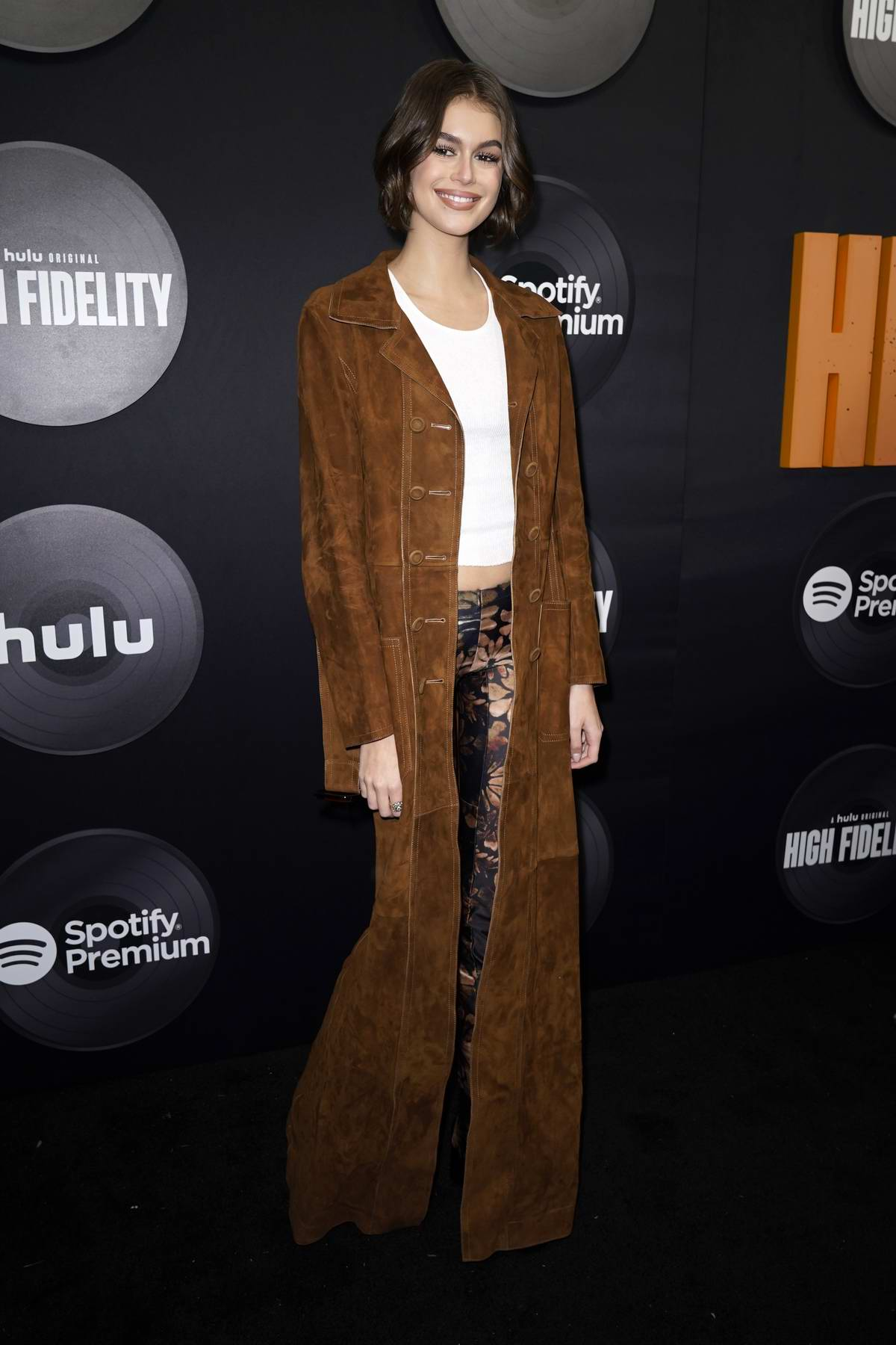 Kaia Gerber attends the Premiere of Hulu's New Dramedy Series 'High Fidelity' in New York City