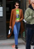 Kaia Gerber seen leaving after Michael Kors show during NYFW 2020 in New York City