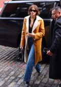 Kaia Gerber seen leaving the Coach fashion show during NYFW 2020 in New York City