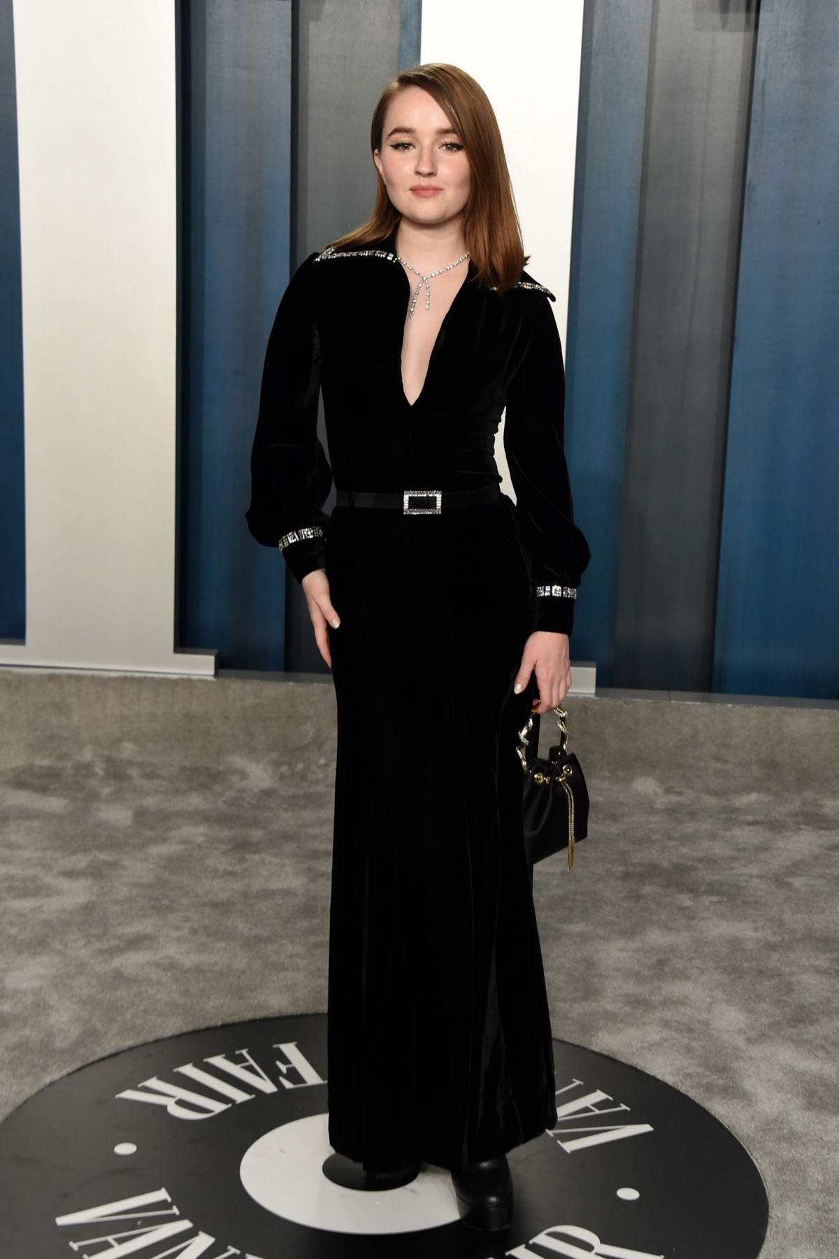 Kaitlyn Dever attends the 2020 Vanity Fair Oscar Party at Wallis Annenberg Center for the Performing Arts in Los Angeles