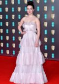Kaitlyn Dever attends the 73rd EE British Academy Film Awards at Royal Albert Hall in London, UK