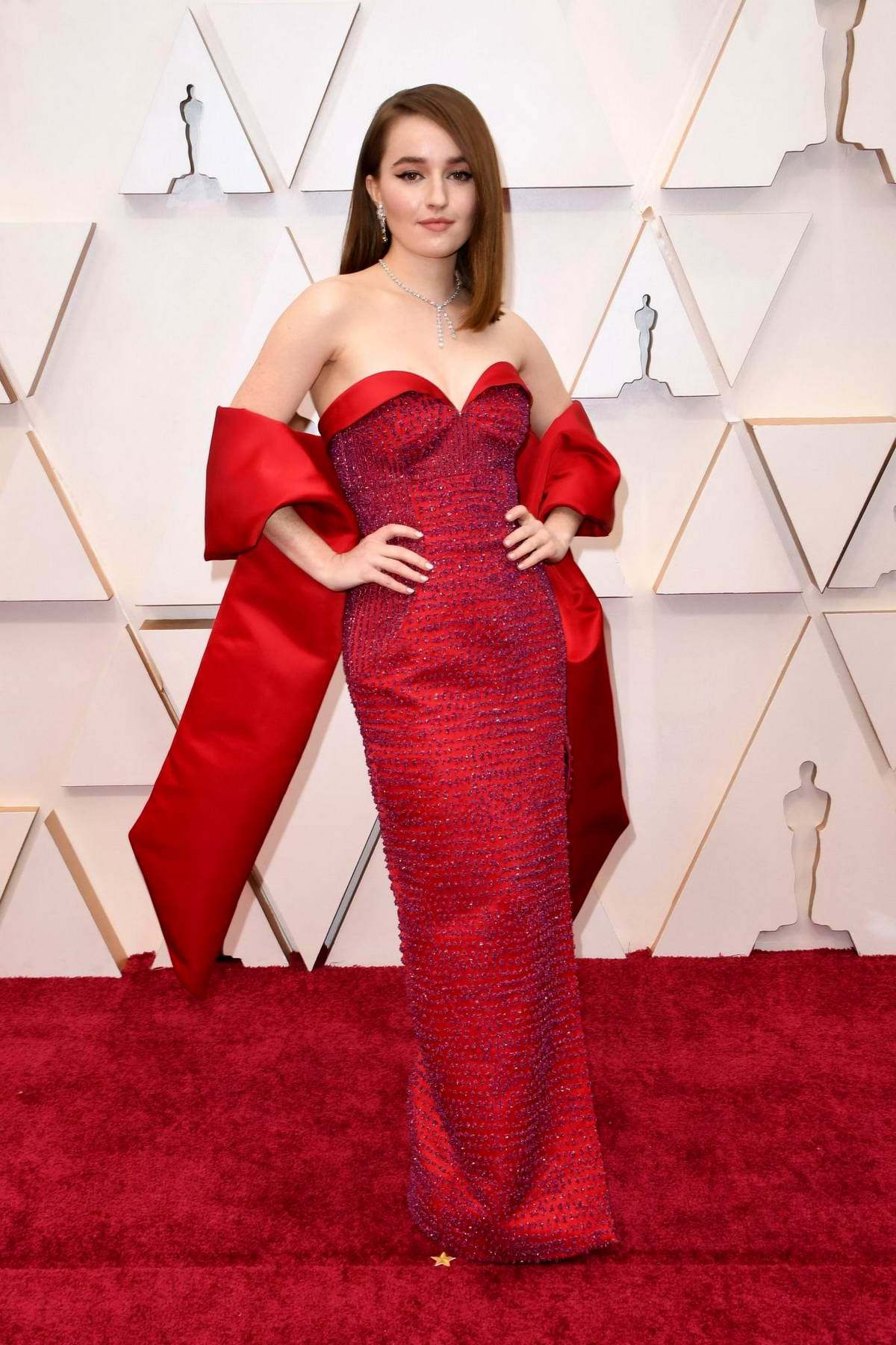 Kaitlyn Dever attends the 92nd Annual Academy Awards at Dolby Theatre in Los Angeles