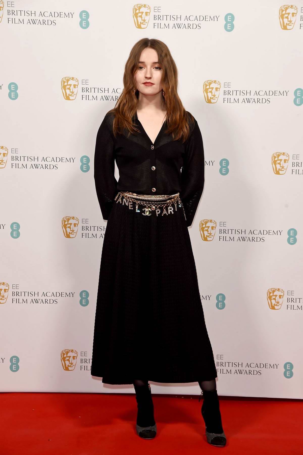 Kaitlyn Dever attends the EE British Academy Film Awards 2020 Nominees Party in London, UK
