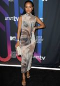 Karrueche Tran attends the AT&T TV Super Saturday Night in Miami, Florida