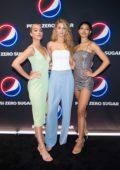 Kate Bock, Jasmine Sanders, and Danielle Herrington at the Pepsi Zero Sugar 2020 Super Bowl LIV Party in Miami, Florida