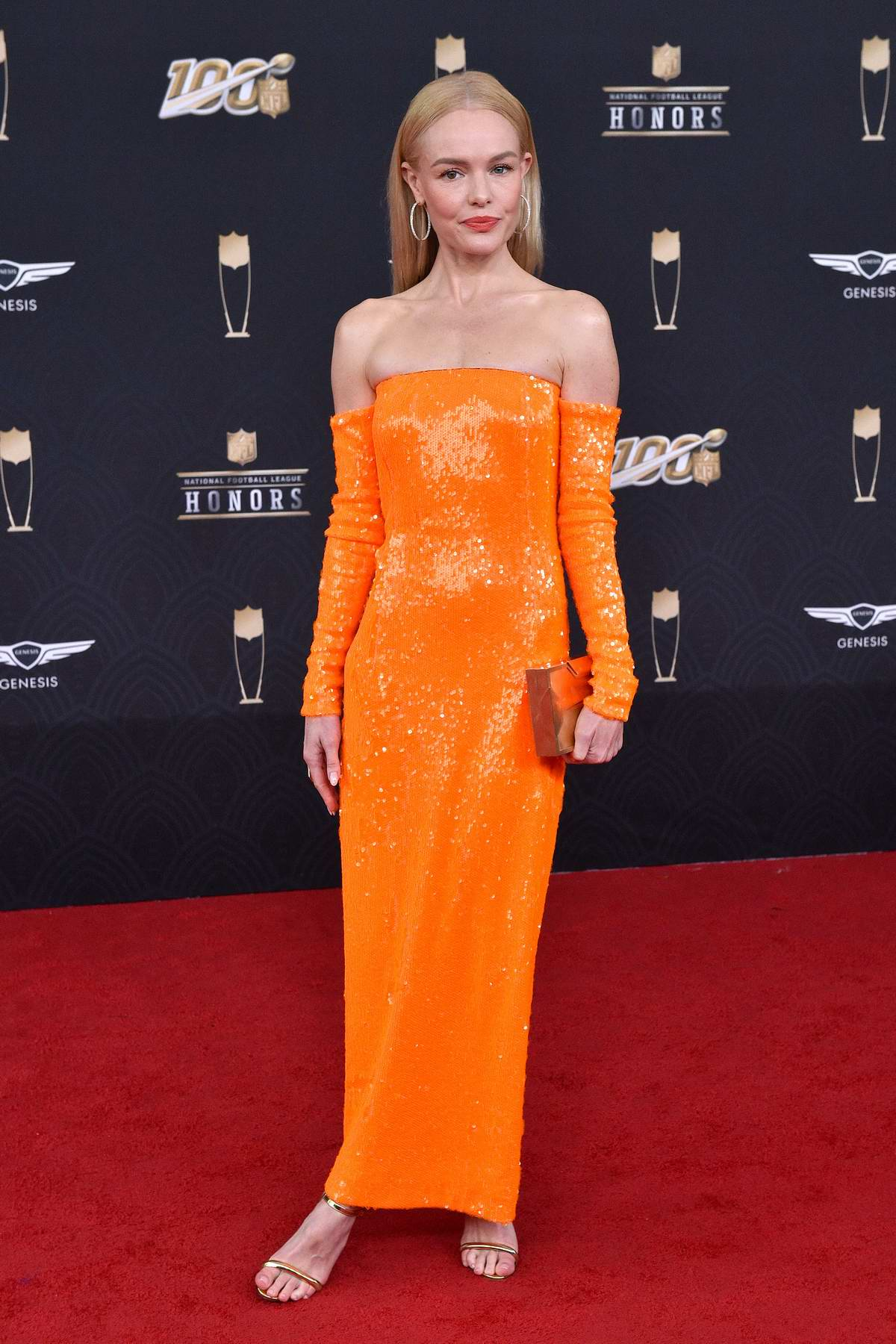 Kate Bosworth attends the 9th Annual NFL Honors at Adrienne Arsht Center in Miami, Florida