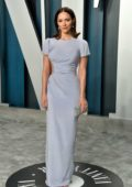 Katharine McPhee attends the 2020 Vanity Fair Oscar Party at Wallis Annenberg Center for the Performing Arts in Los Angeles