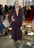 Katherine McNamara attends the Jonathan Simkhai Fashion Show during NYFW 2020 in New York City