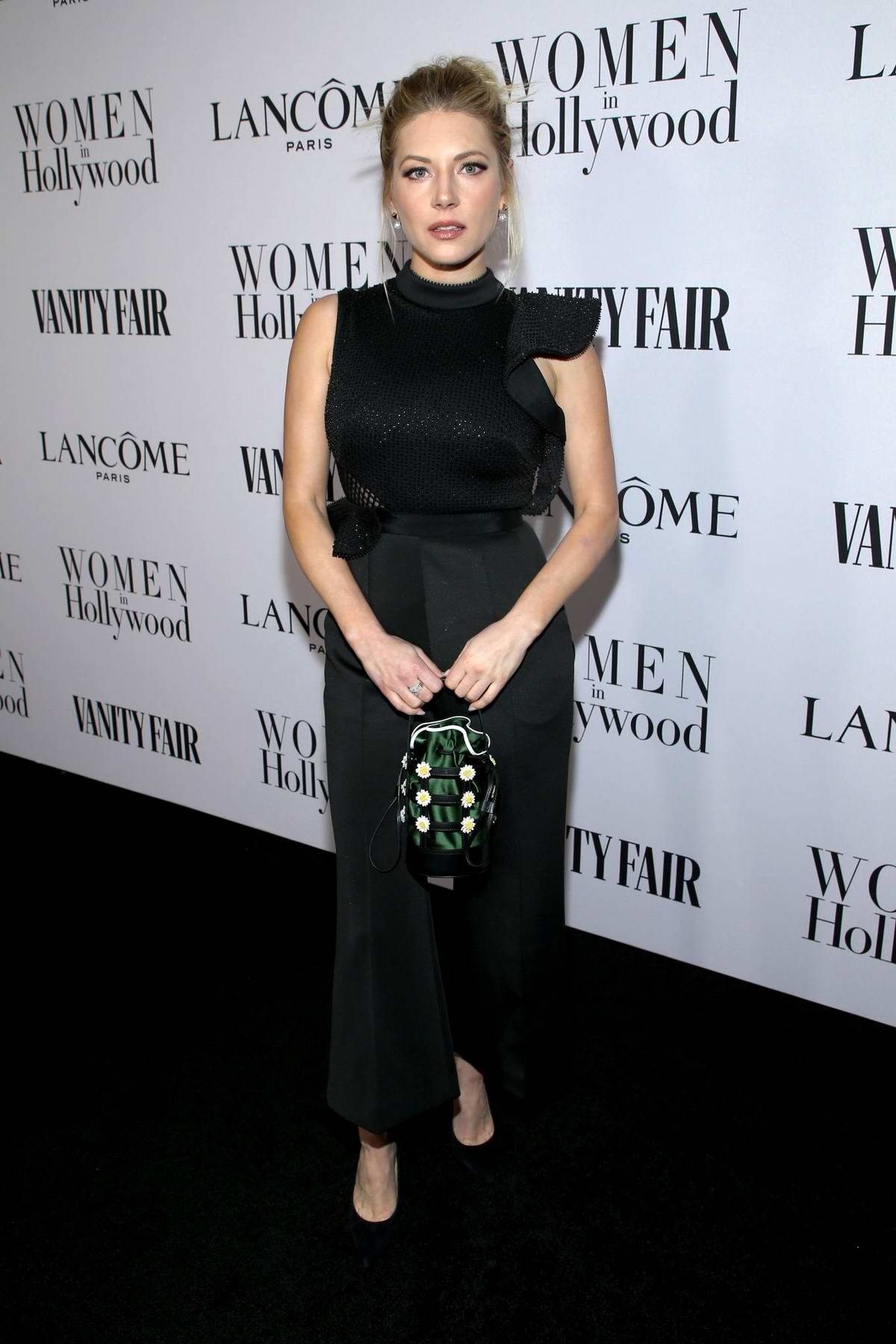 Katheryn Winnick attends the Vanity Fair and Lancome Women in Hollywood Celebration in West Hollywood, California
