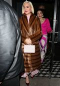 Katy Perry enjoys a dinner outing with friends at Craig's in West Hollywood, California