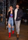 Kelsea Ballerini and Morgan Evans enjoy a date night at Nobu 57 in New York City
