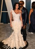 Kim Kardashian attends the 2020 Vanity Fair Oscar Party at Wallis Annenberg Center for the Performing Arts in Los Angeles