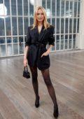 Kimberley Garner attends the Atelier Zuhra Fall/Winter 2020 show during London Fashion Week in London, UK
