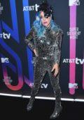 Lady Gaga attends the AT&T TV Super Saturday Night in Miami, Florida