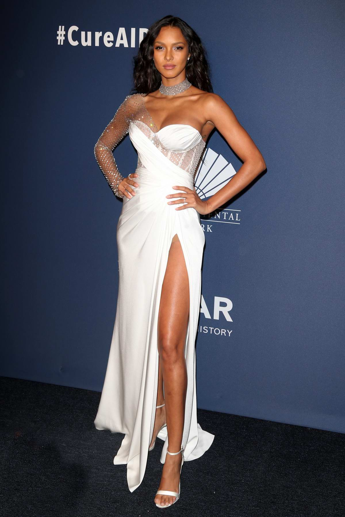 Lais Ribeiro attends the 22nd annual amfAR Gala Benefit for AIDS Research in New York City