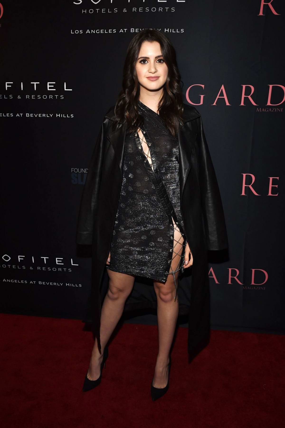 Laura Marano attends the Regard Magazine's 10 Year Anniversary celebration in Los Angeles