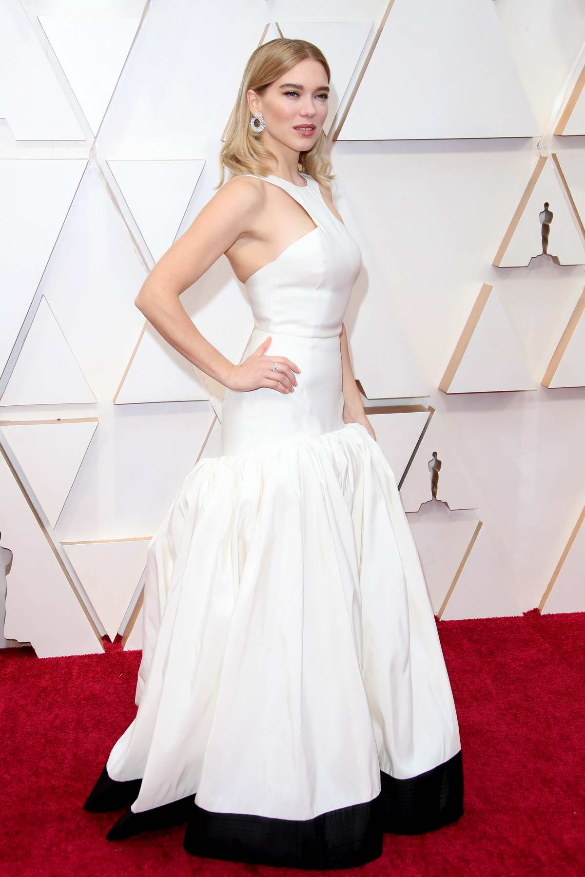 Lea Seydoux attends the 92nd Annual Academy Awards at Dolby Theatre in Los Angeles