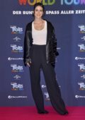 Lena Meyer-Landrut attends a Photocall for 'Trolls World Tour' in Berlin, Germany