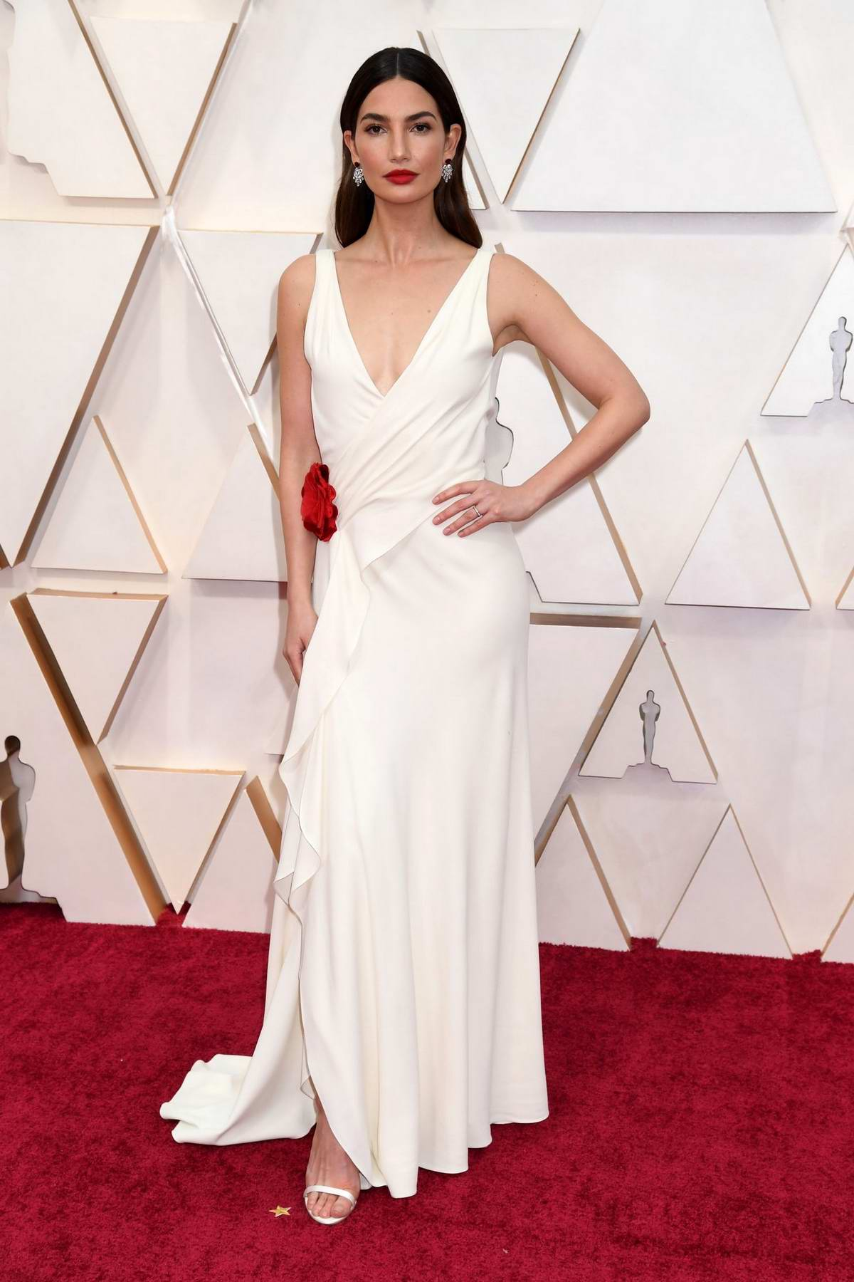 Lily Aldrige attends the 92nd Annual Academy Awards at Dolby Theatre in Los Angeles