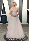Lucy Boynton attends the 2020 Vanity Fair Oscar Party at Wallis Annenberg Center for the Performing Arts in Los Angeles