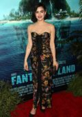 Lucy Hale attends the Premiere of 'Fantasy Island' in Century City, California