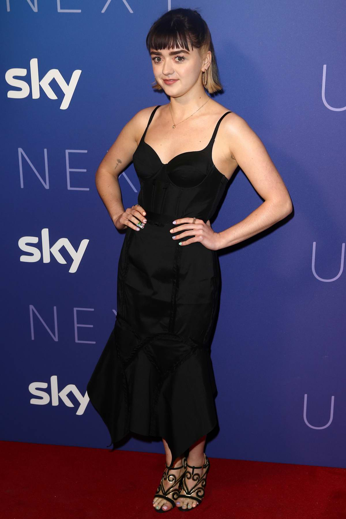Maisie Williams attends Sky Up Next 2020 at Tate Modern in London, UK