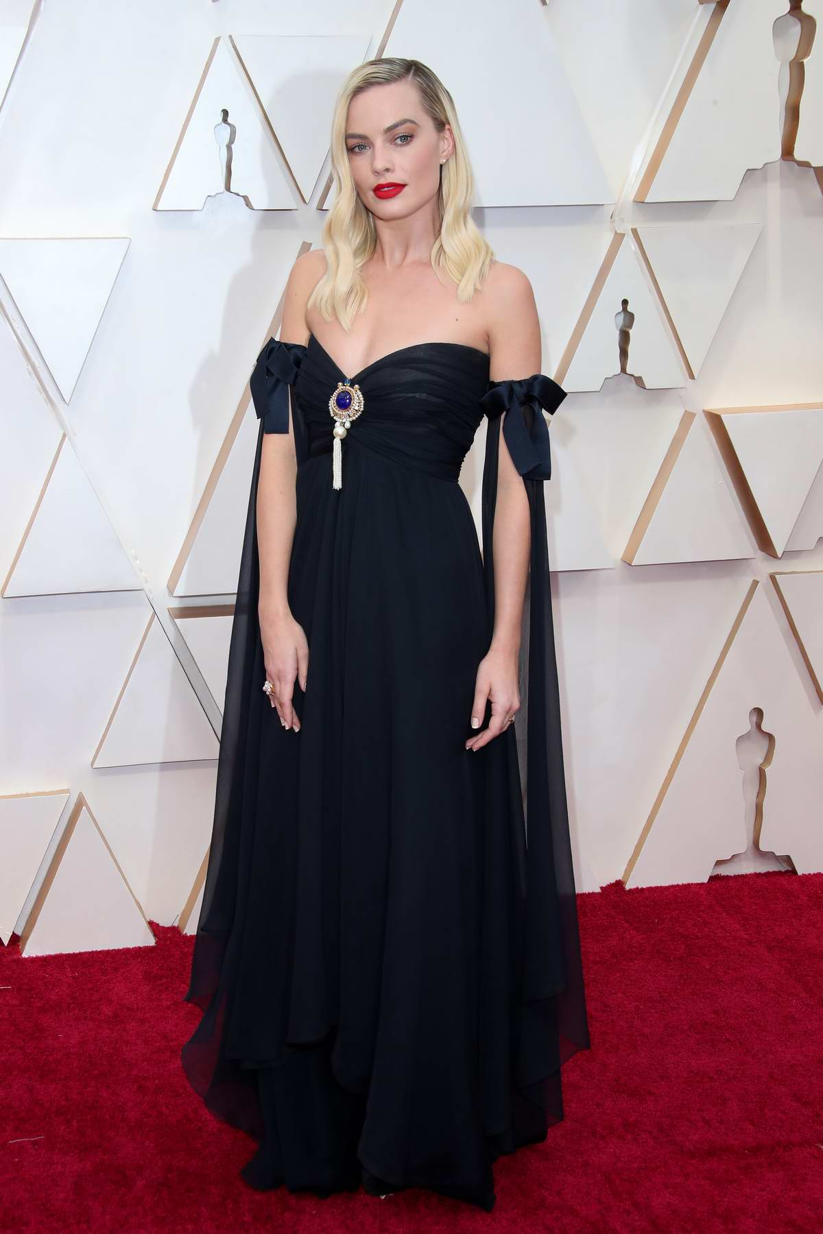 Margot Robbie attends the 92nd Annual Academy Awards at Dolby Theatre in Los Angeles