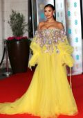 Maya Jama attends BAFTA 2020 after-party at Grosvenor House Hotel in London, UK