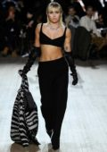 Miley Cyrus walks the runway at Marc Jacobs Fall/Winter 2020 show during New York Fashion Week in New York City
