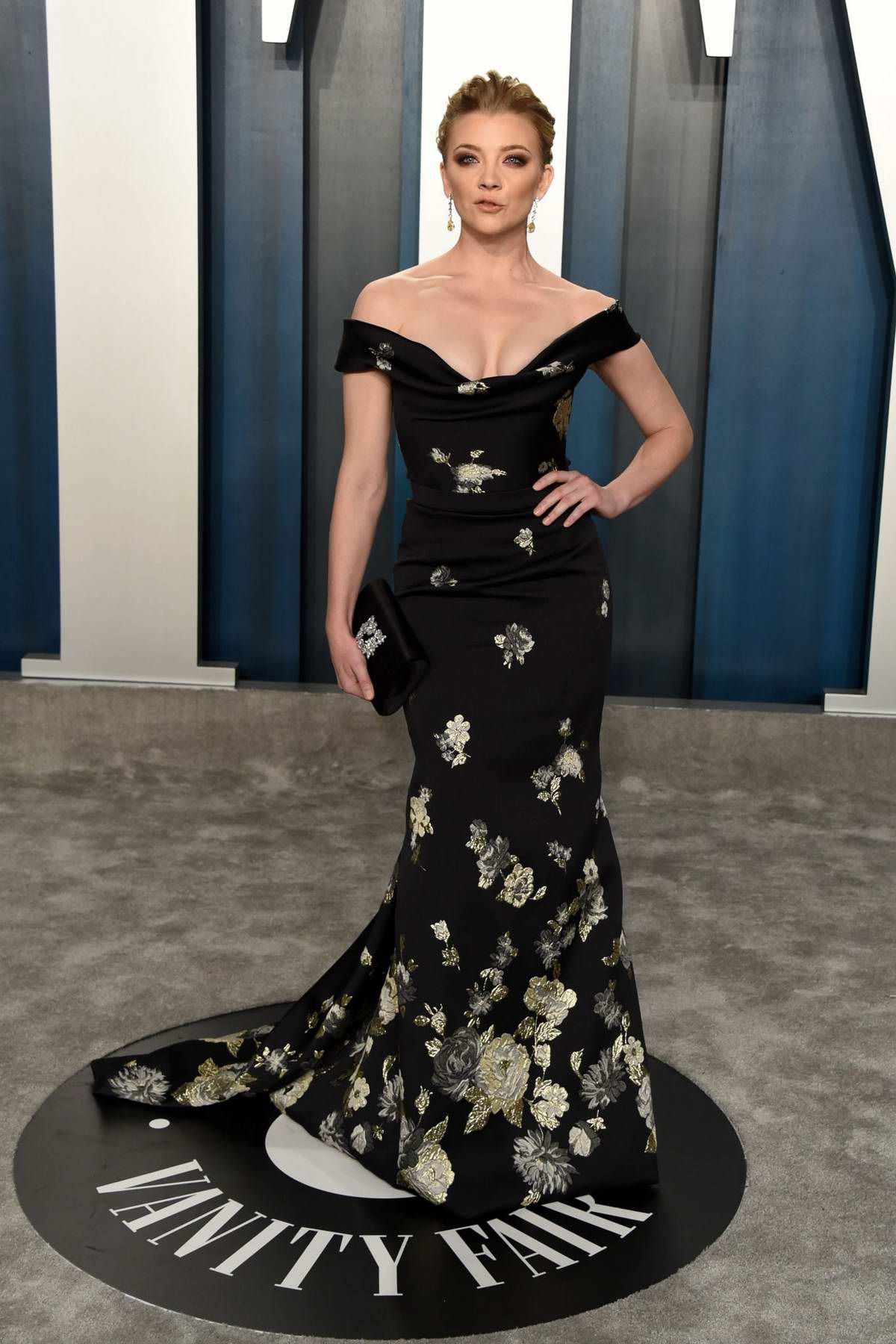 Natalie Dormer attends the 2020 Vanity Fair Oscar Party at Wallis Annenberg Center for the Performing Arts in Los Angeles