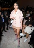 Olivia Culpo attends the Fendi fashion show, F/W 2020 during Milan Fashion Week in Milan, Italy