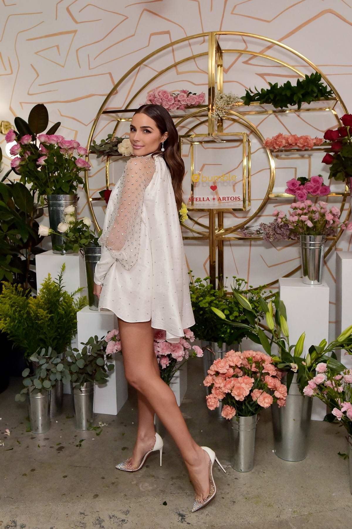 Olivia Culpo hosts a festive night at the 'Stella Heartois Experience' in Los Angeles