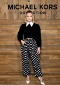 Olivia Holt attends the Michael Kors show during NYFW 2020 in New York City