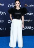 Olivia Sanabia attends the Premiere of 'Onward' in Hollywood, California