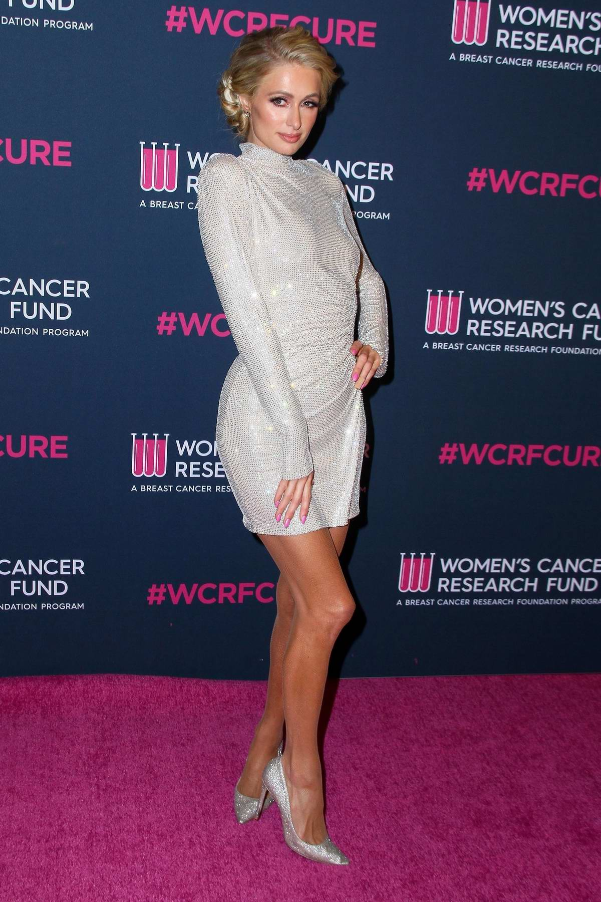 Paris Hilton attends The Women's Cancer Research Fund hosts An Unforgettable Evening in Beverly Hills, California