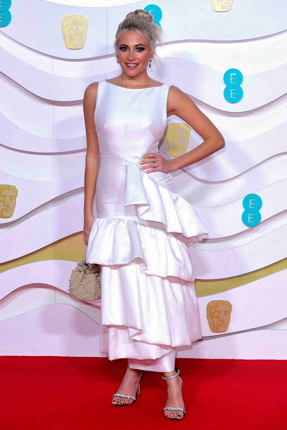 Pixie Lott attends the 73rd EE British Academy Film Awards at Royal Albert Hall in London, UK