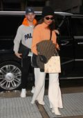 Priyanka Chopra and Nick Jonas return to their apartment in New York City