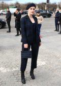 Rachel Brosnahan attends the Dior show, F/W 2020 during Paris Fashion Week in Paris, France