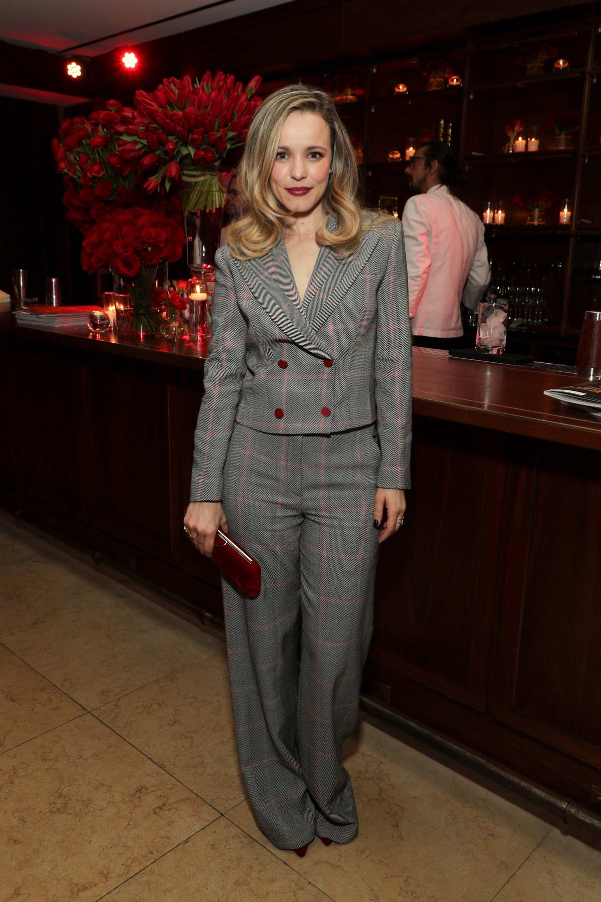 Rachel McAdams attends the Variety x Armani Makeup Artistry Dinner at Sunset Tower in Los Angeles