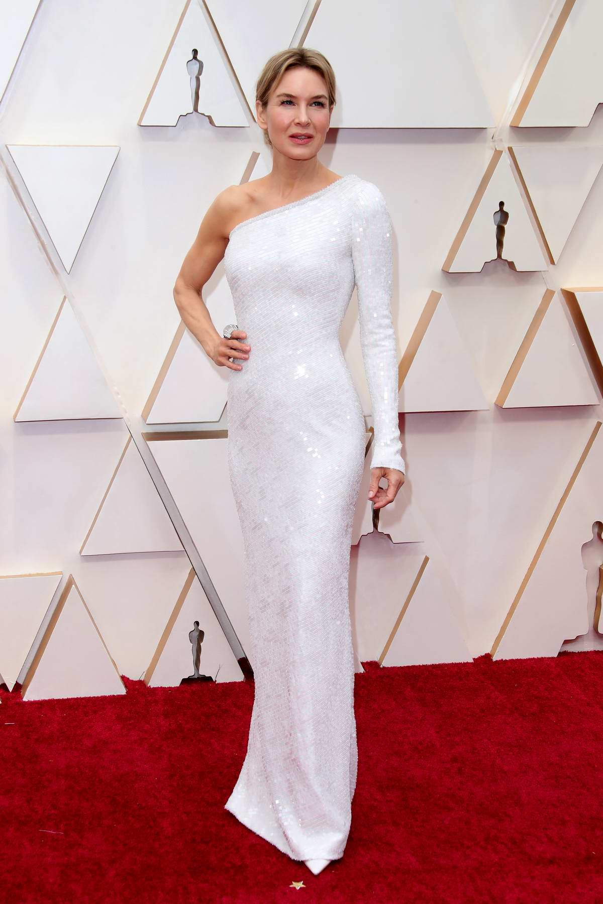 Renee Zellweger attends the 92nd Annual Academy Awards at Dolby Theatre in Los Angeles