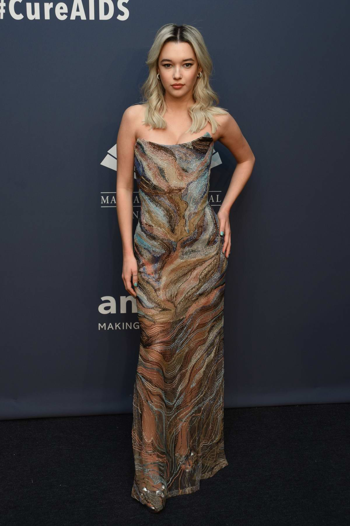 Sarah Snyder attends the 22nd annual amfAR Gala Benefit for AIDS Research in New York City