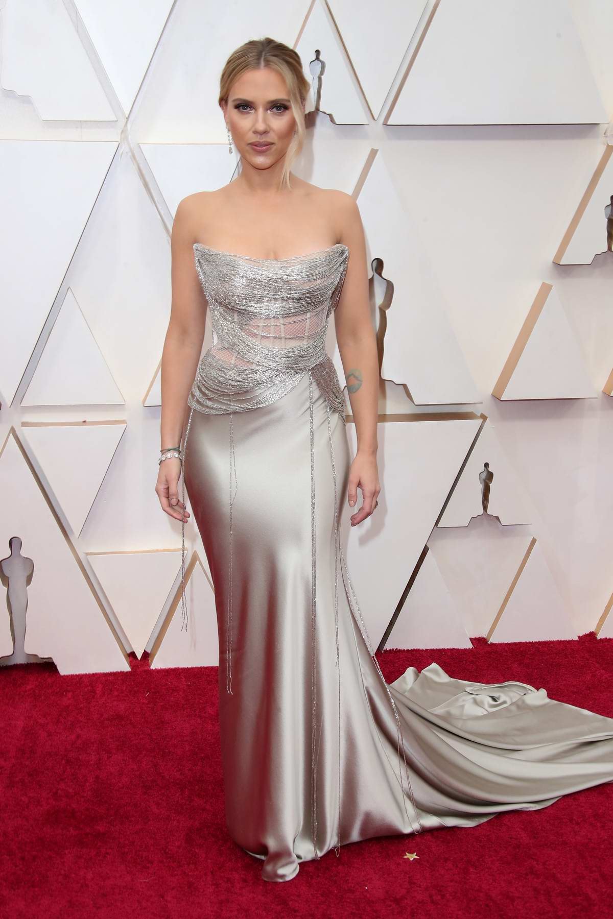 Scarlett Johansson attends the 92nd Annual Academy Awards at Dolby Theatre in Los Angeles