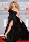 Tallia Storm attends the BRIT Awards 2020 at The O2 Arena in London, UK
