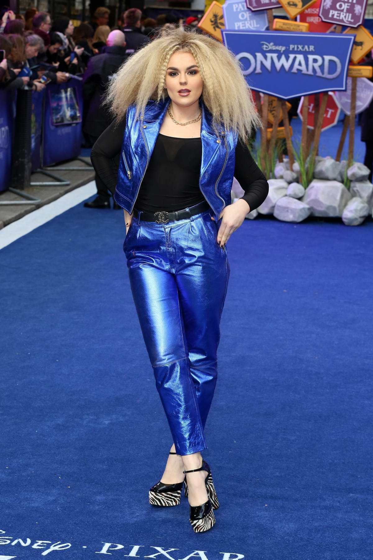 Tallia Storm attends the UK premiere of 'Onward' at Curzon Mayfair in London, UK