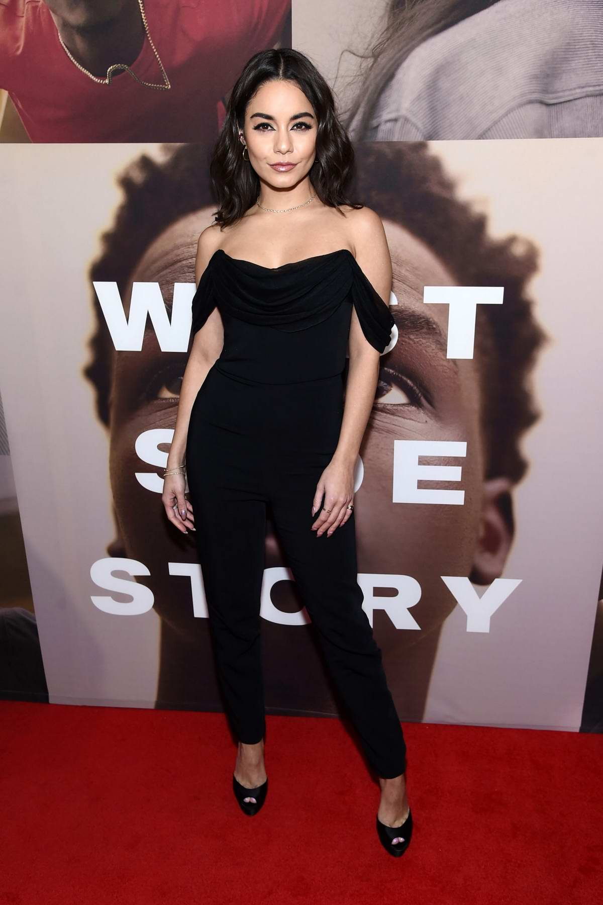 Vanessa Hudgens attends 'West Side Story' opening night on Broadway in New York City