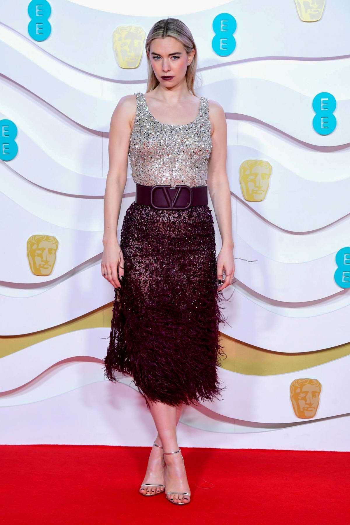 Vanessa Kirby attends the 73rd EE British Academy Film Awards at Royal Albert Hall in London, UK