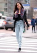 Victoria Justice looks stylish as she steps out with Madison Reed in New York City
