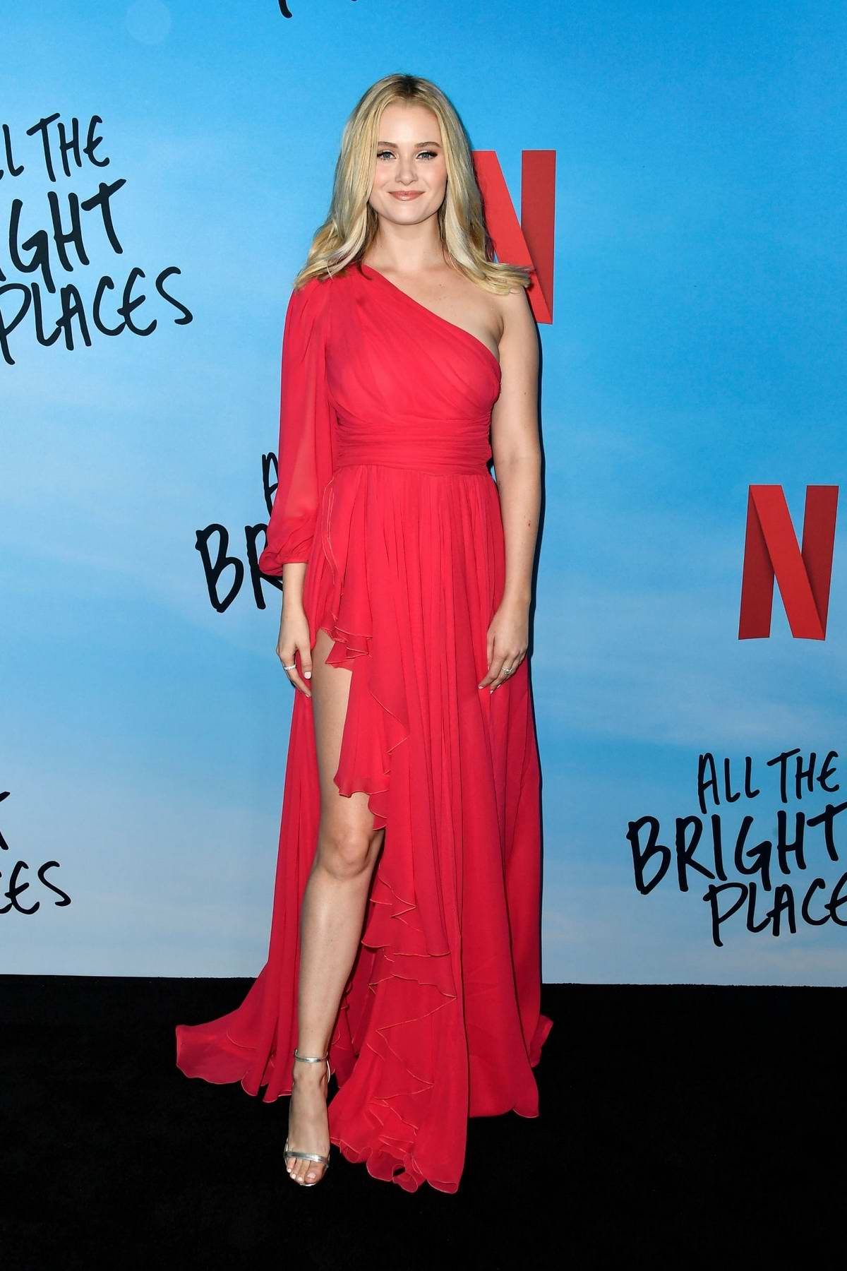 Virginia Gardner attends the Special Screening of 'All The Bright Places' at ArcLight Hollywood in Hollywood, California