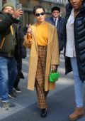Zoe Kravitz seen exiting SiriusXM Townhall after promoting Hulu's 'High Fidelity, New York City